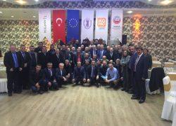 Yöneticiler Erzurum'da eğitildi