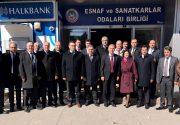 ESOB'da bankacılar zirvesi