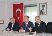 Ak Parti adaylarının ESOB ziyareti