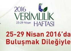 2016 – Verimlilik Haftası
