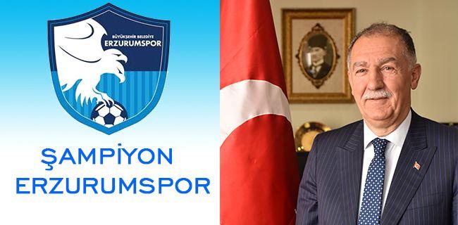Fırat: Tebrikler Erzurumspor