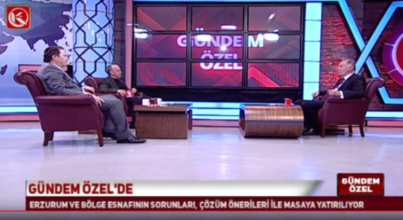 Başkan Fırat, Kardelen TV'de Gündem Özel Programına katıldı